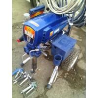 Окрасочный электрический агрегат для нанесения краски, огнезащитных покрытий и шпатлёвокт Graco Marck 5 Б/У.