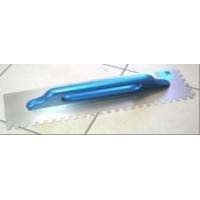 Кельма затирочная стальная зубчатая 130x48
